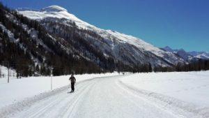 cours de ski de fond vallée de Chamonix