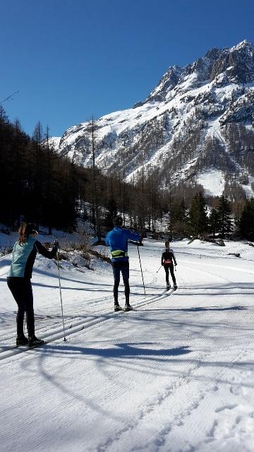 Cross-Country ski runs in Chamonix