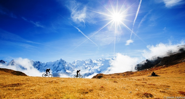 Mountain biking in Chamonix is Magic