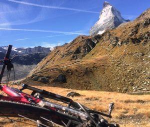 vue sur le Cervin depuis la Haute Route Chamonix Zermatt