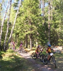 Mountain Biking session for kids